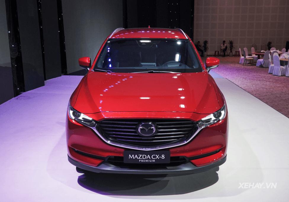 Hình ảnh, giá bán và Thông số kỹ thuật Mazda Cx8 AWD