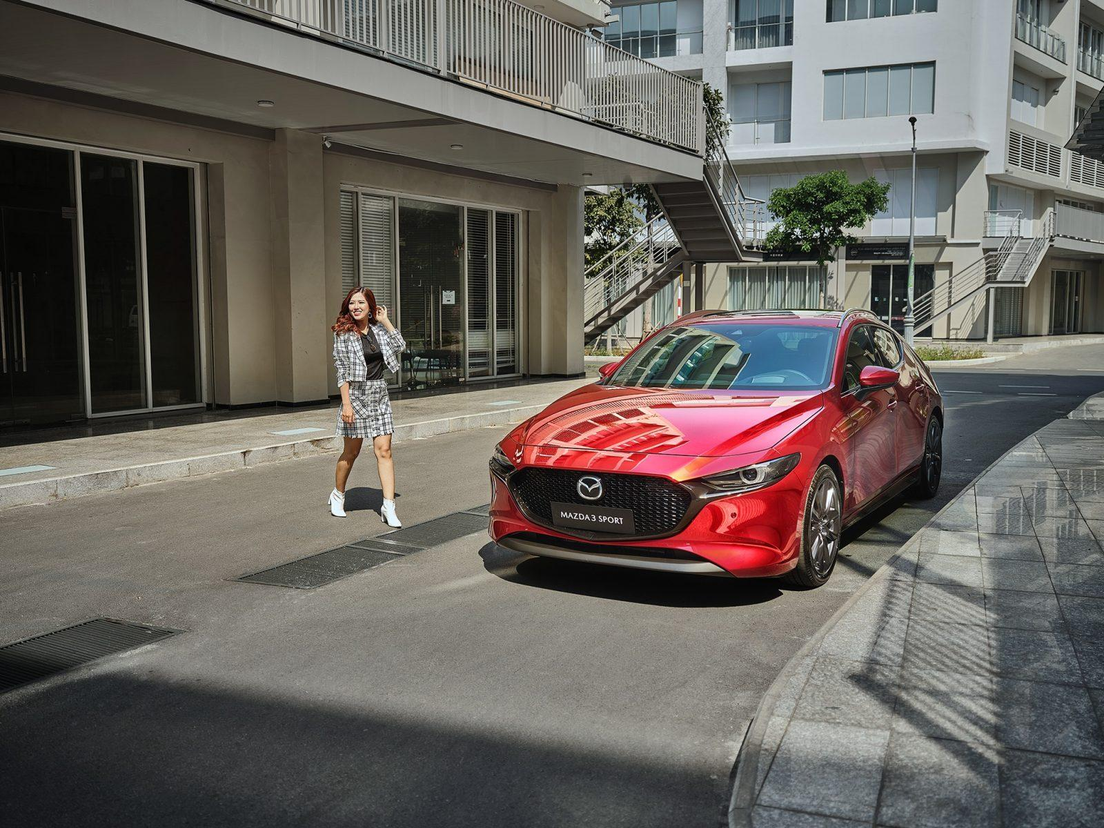 Nữ giới ngày càng ưa chuộng Mazda3 Sport